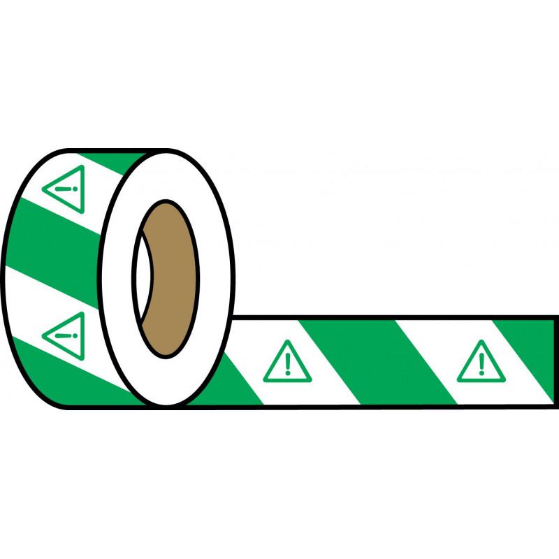 Rollo Blanco-Verde 200m - Peligro Indefinido