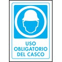 Cartel Uso Obligatorio del Casco