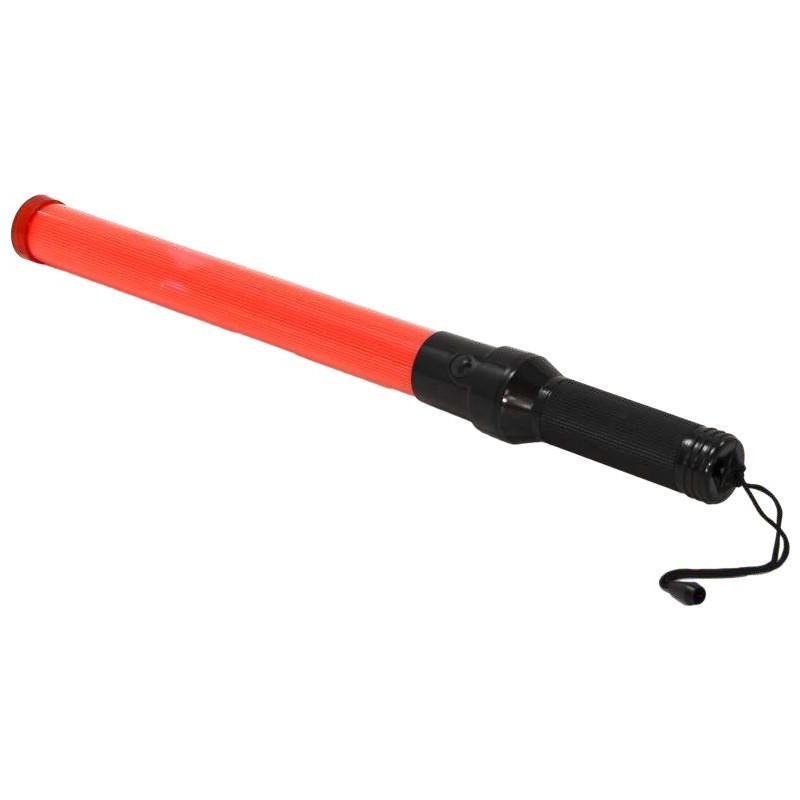 Bastón Luminoso LED Rojo - Tráfico