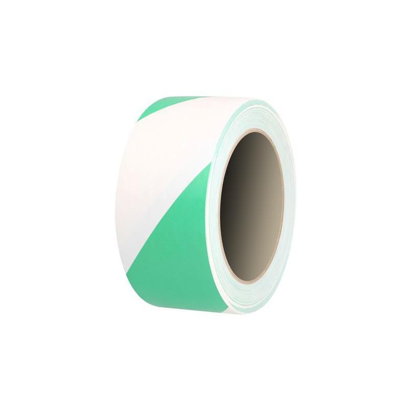 Cinta Adhesiva Blanco-Verde 5cm-33m