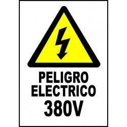 Pegatina Alta Tensión - 380V