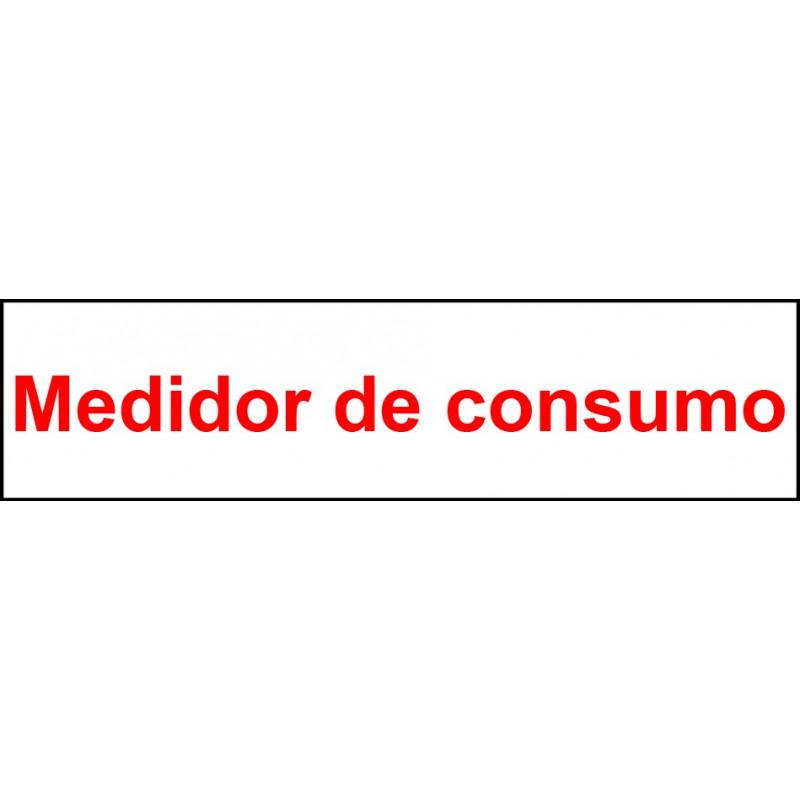 Pegatina Indicadora Panel Electricidad - Medidor de Consumo