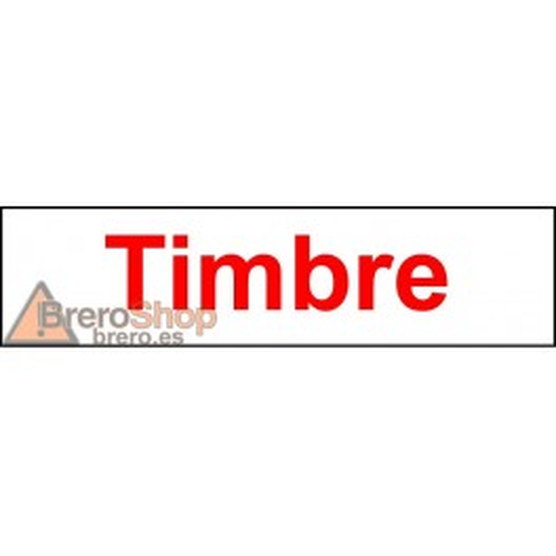 Pegatina Indicadora Panel Electricidad - Timbre